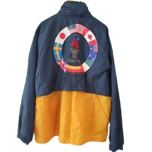 VTG 1996 Atlanta Olympics Speedo Windbreaker XL